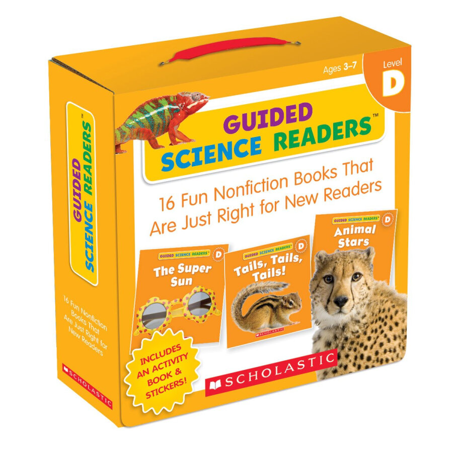 Guided Science Readers Level D (16 Books + 1 Activity Book + 1 Cd)