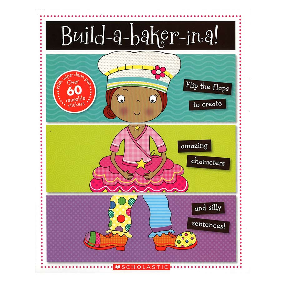 Mix And Match Books: Build A Baker-ina