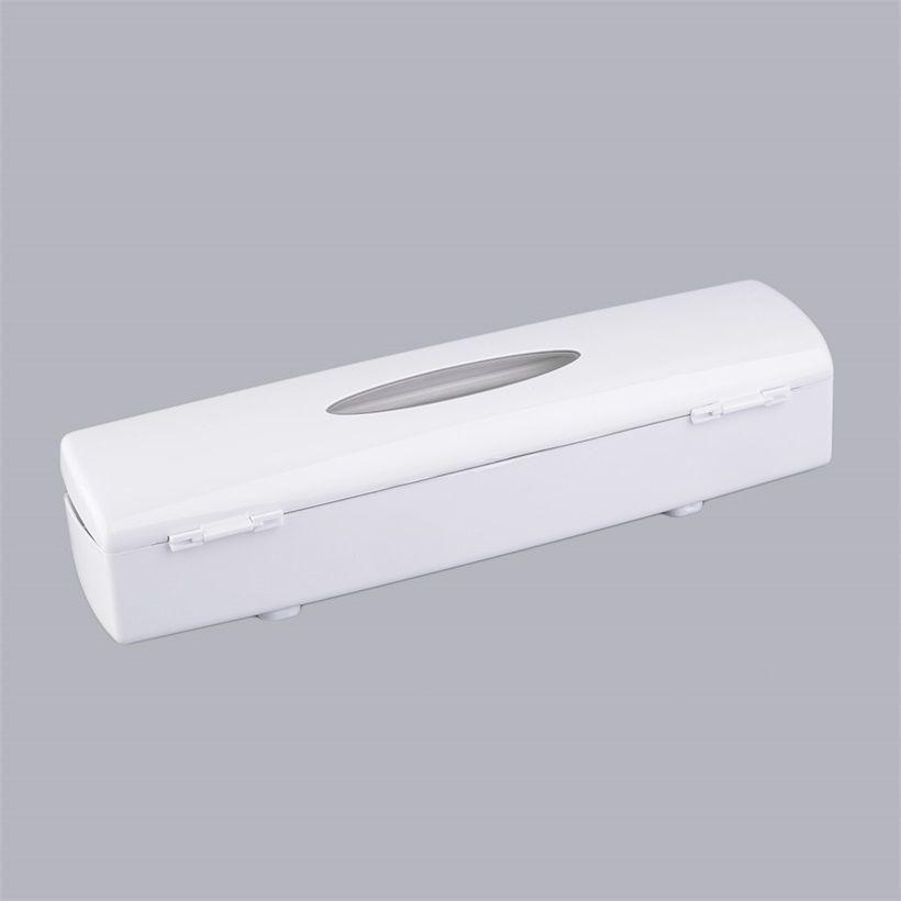 Plastic Wrap Dispenser with Cutter Plastic Wrap Dispenser High Quality Cling Wrap Food Cutter Holders Tool