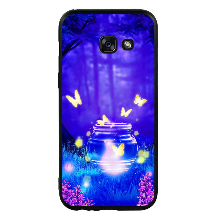 Ốp lưng viền TPU cho điện thoại Samsung Galaxy A3 2017 -Nice 01