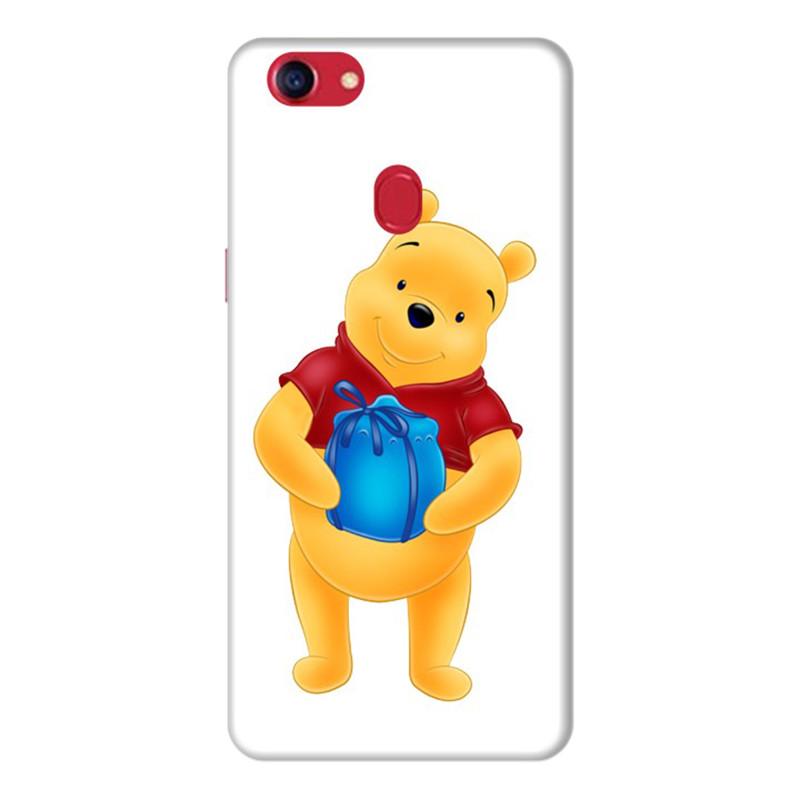 Ốp Lưng Dành Cho Điện Thoai Oppo F7 Gấu Pooh - Mẫu 2