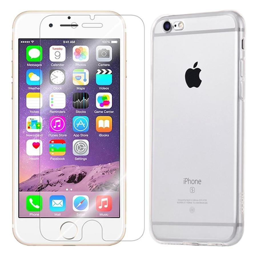 Bộ Ốp Lưng Hoco Và Kính Cường Lực Winner Cho iPhone 6 / 6S - (Trong Suốt) - Hàng Chính Hãng - 900467 , 1778509808111 , 62_1660699 , 120000 , Bo-Op-Lung-Hoco-Va-Kinh-Cuong-Luc-Winner-Cho-iPhone-6--6S-Trong-Suot-Hang-Chinh-Hang-62_1660699 , tiki.vn , Bộ Ốp Lưng Hoco Và Kính Cường Lực Winner Cho iPhone 6 / 6S - (Trong Suốt) - Hàng Chính Hãng