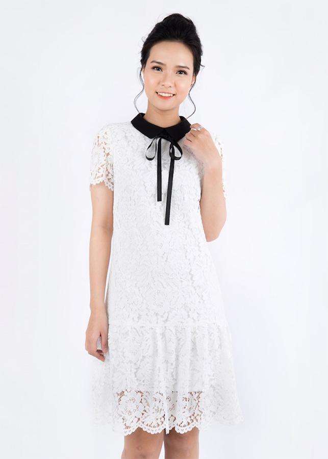 Đầm Suông Nữ Ren Đuôi Cá De Leah