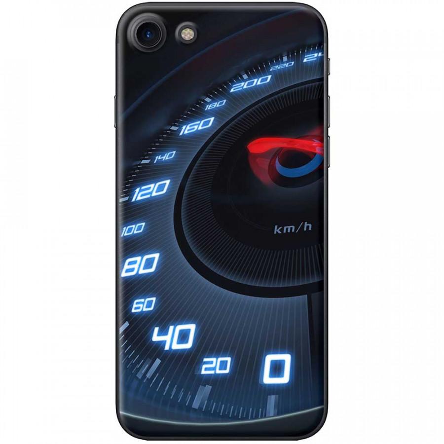 Ốp lưng dành cho iPhone 7 mẫu Đồng hồ tốc độ xanh