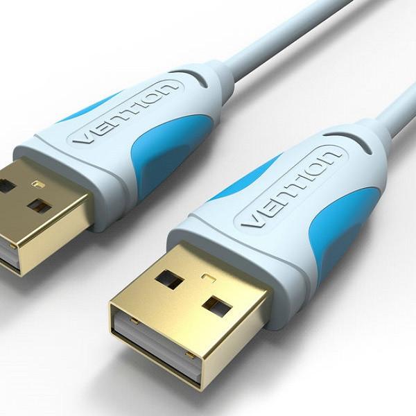 Cáp USB 2.0 Vention VAS-A06-200 dài 2m chính hãng đầu nối mạ nikel chống gỉ