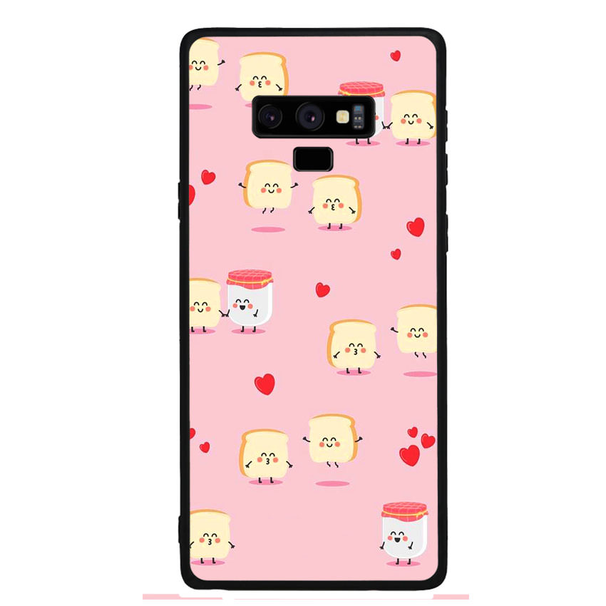 Ốp lưng nhựa cứng viền dẻo TPU cho điện thoại Samsung Galaxy Note 9 - Cartoon 02
