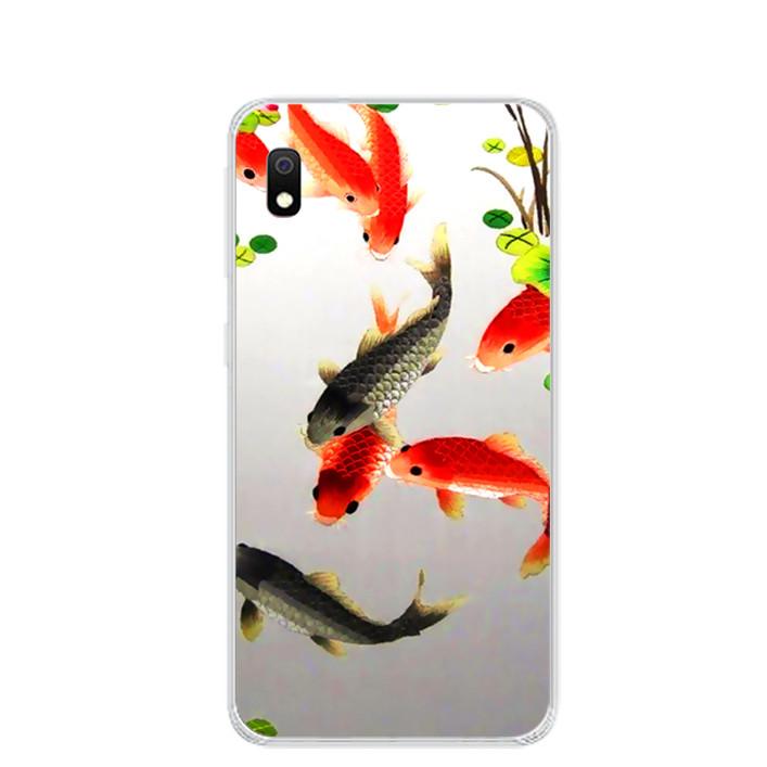 Ốp lưng dẻo cho điện thoại Samsung Galaxy A10 - 0150 FISHES03 - Hàng Chính Hãng