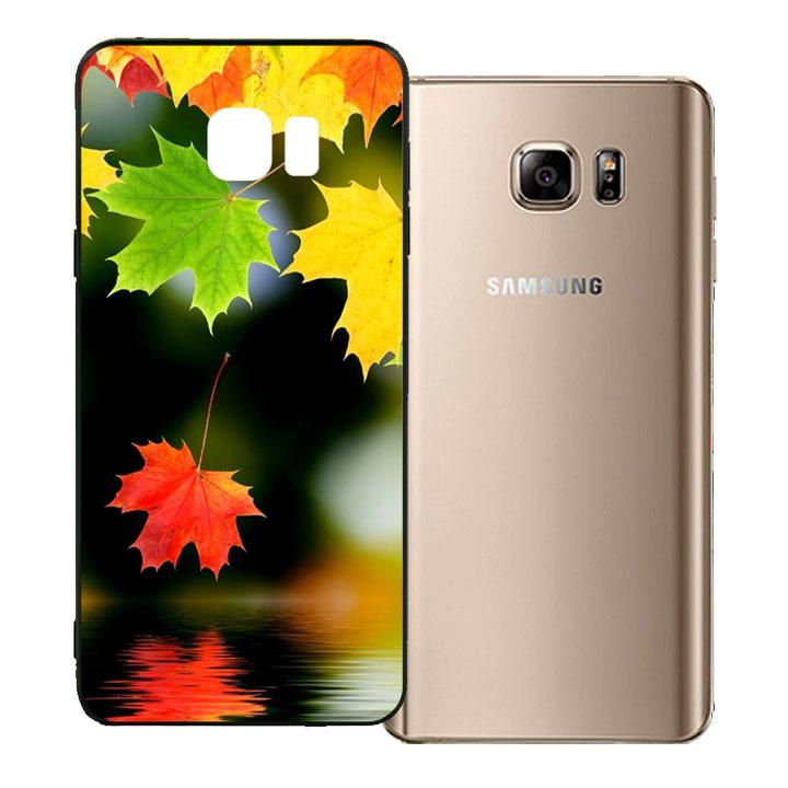 Ốp lưng viền TPU cho Samsung Galaxy Note 5 - Sắc Thu