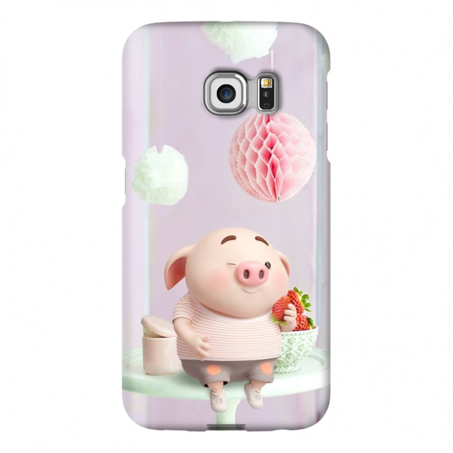 Ốp Lưng Cho Điện Thoại Samsung Galaxy S6 Edge - Mẫu heocon 34