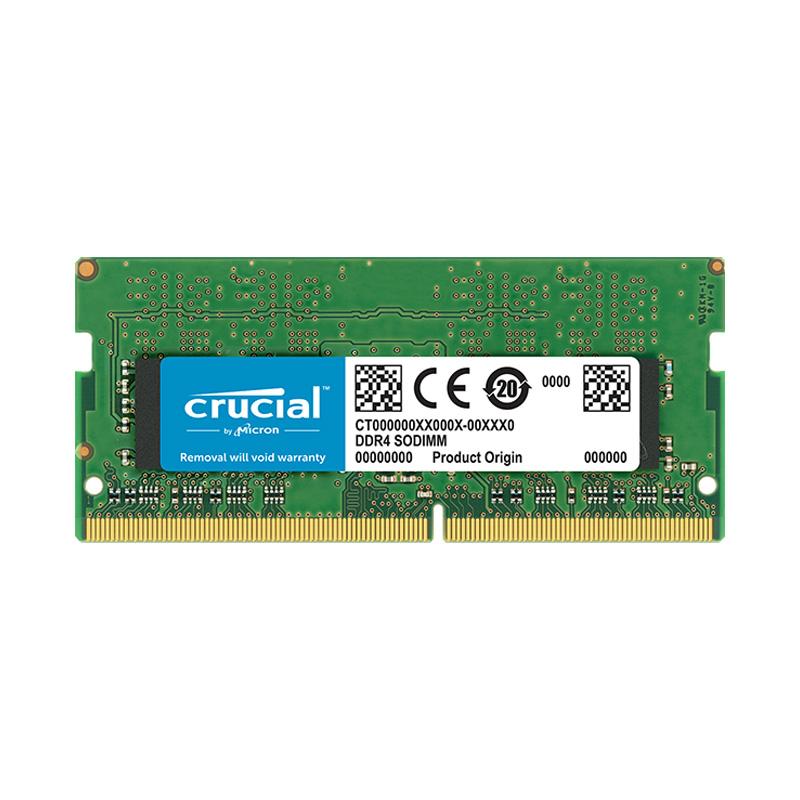 Ram laptop Crucial DDR4 8GB (1x8GB) Bus 2666Mhz SODIMM CT8G4SFS8266 - Hàng Chính Hãng