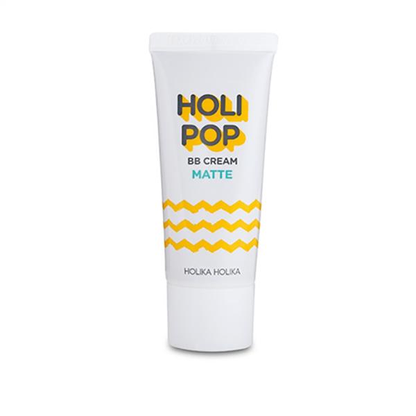 Combo 2 kem nền BB cho da nhờn Holika Holika Holi pop BB cream #01 matte SPF30/PA++ - 30ml