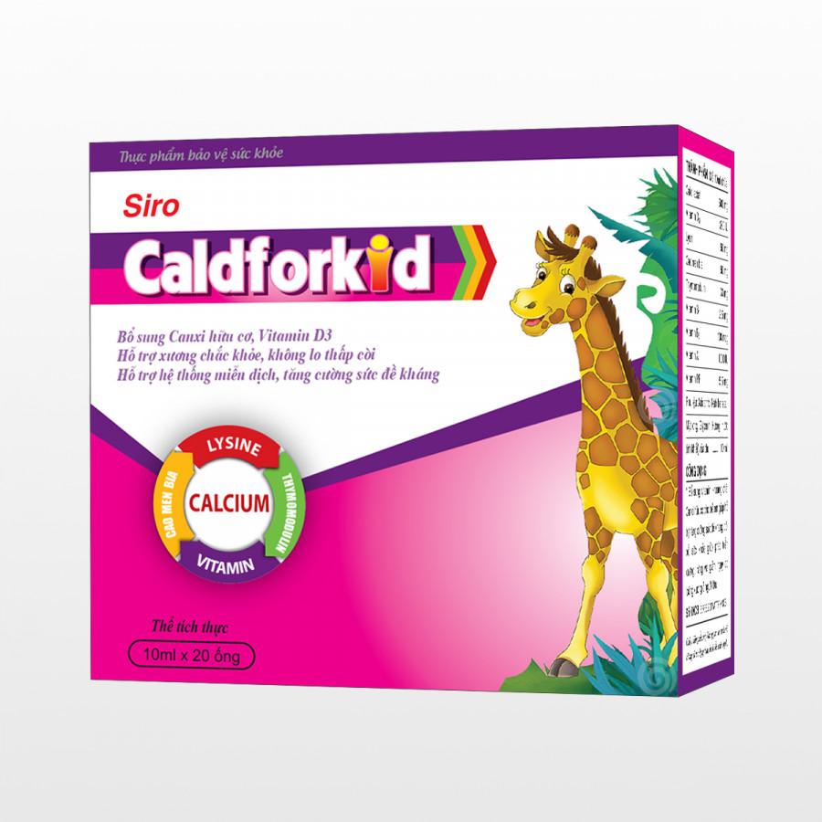 Thực Phẩm Chức Năng Caldforkid - Bổ sung canxi hữu cơ cho xương chắc khỏe