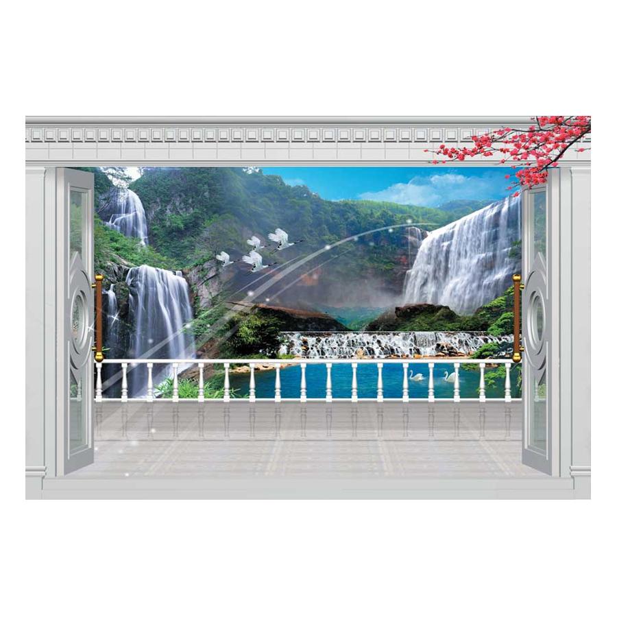 Tranh Dán Tường Phong Cảnh 3D TV0118
