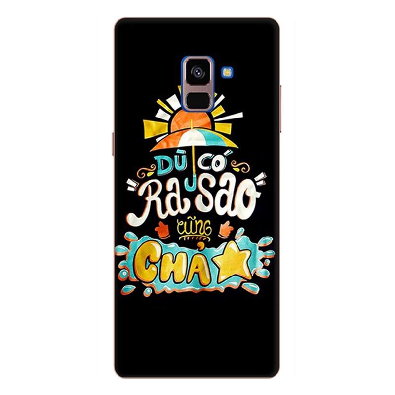Ốp Lưng Dành Cho Samsung Galaxy A8 Plus - Mẫu 84