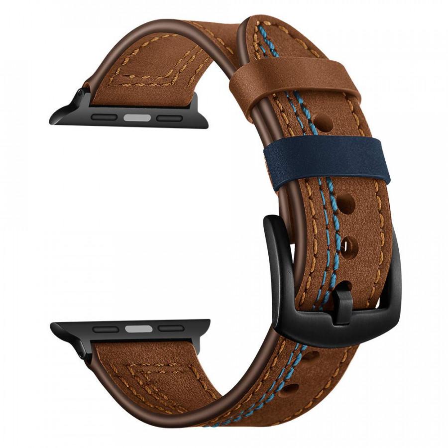 Dây đồng hồ , dây da 07 viền chỉ khóa thép không gỉ cho đồng hồ Apple Watch - 1505359 , 5510005229344 , 62_13406252 , 520000 , Day-dong-ho-day-da-07-vien-chi-khoa-thep-khong-gi-cho-dong-ho-Apple-Watch-62_13406252 , tiki.vn , Dây đồng hồ , dây da 07 viền chỉ khóa thép không gỉ cho đồng hồ Apple Watch
