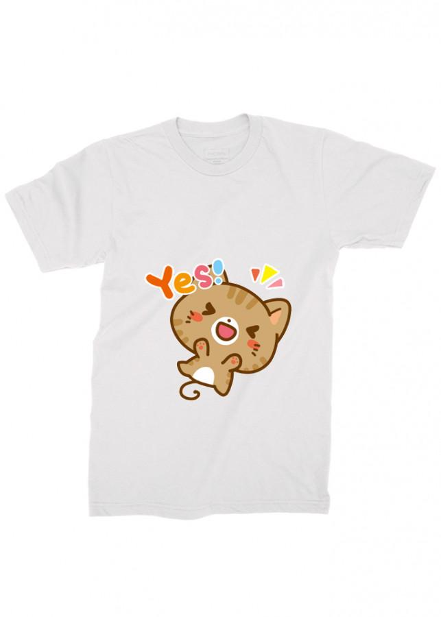 áo thun nam mèo, áo thun mèo dễ thương aa8