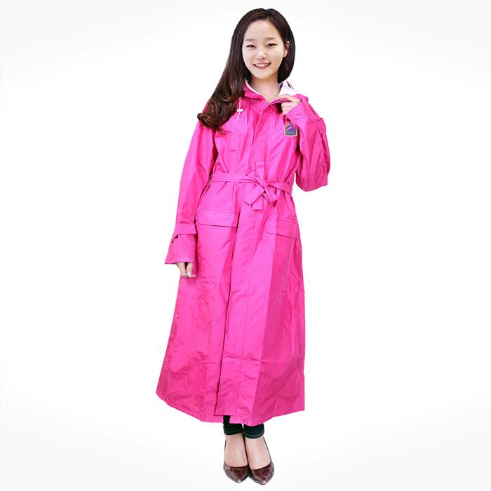 Áo mưa măng tô vải siêu nhẹ nữ Hưng Việt