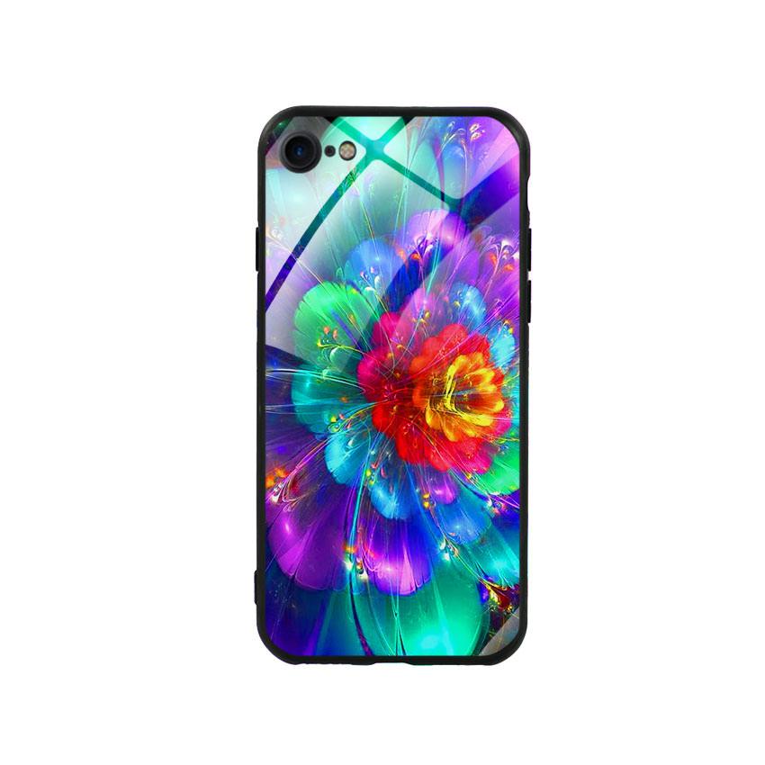 Ốp Lưng Kính Cường Lực Cho Điện Thoại Iphone 7/8 - Flower 14