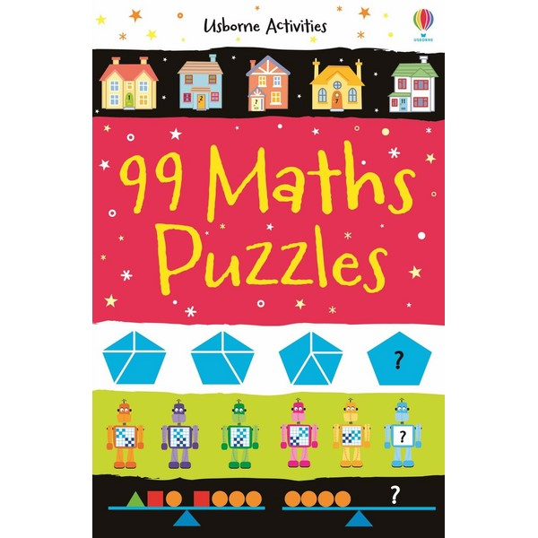 Usborne 99 Maths Puzzles
