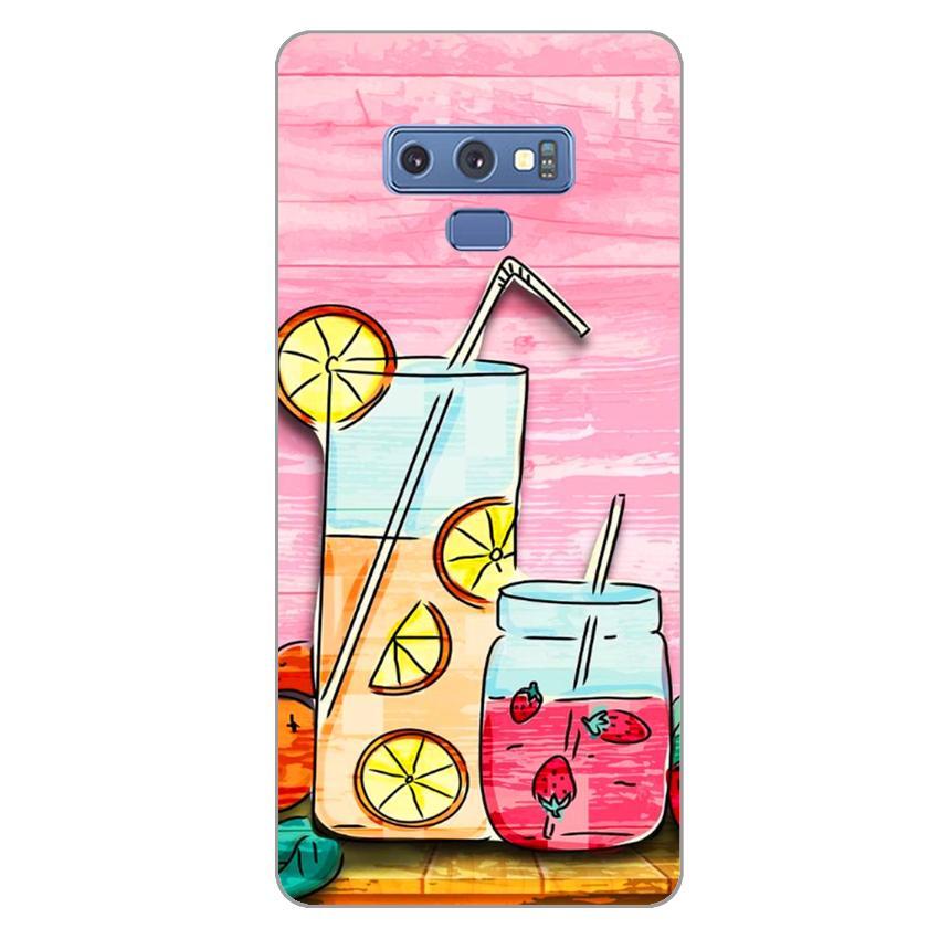 Ốp lưng dẻo cho Samsung Galaxy Note 9_Cocktail