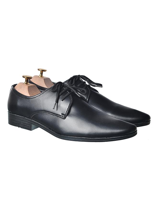 Giày Da Nam Buộc Dây Mũi Nhọn  BT19