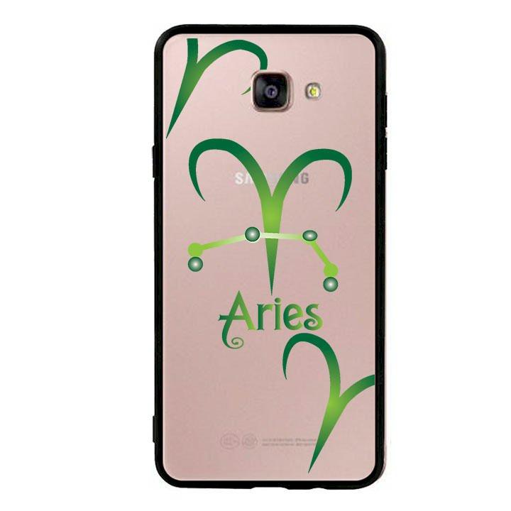 Ốp lưng cho Samsung Galaxy A9 viền TPU cung Bạch Dương - Aries