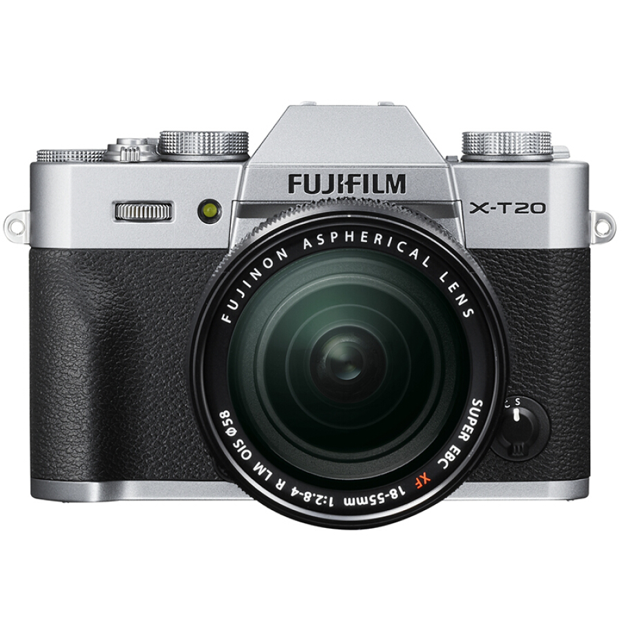Máy Ảnh Fujifilm X-T20 Màn Hình Gập 4K Màu Trắng Bạc
