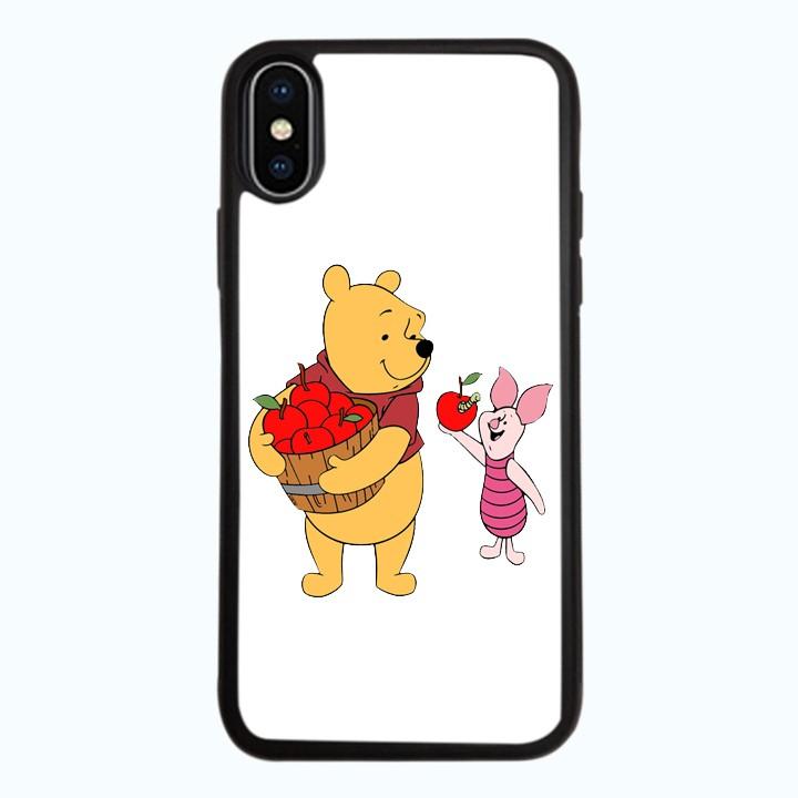 Ốp lưng dành cho điện thoại iPhone XR - X/XS - XS MAX - Gấu Pooh Mẫu 4