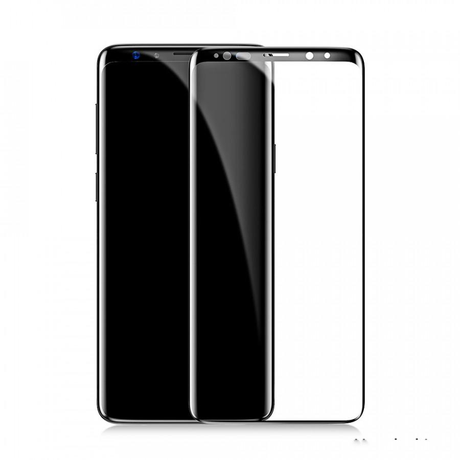 Miếng dán kính cường lực Full 3D cho Samsung Galaxy S9 Plus Baseus Arc (Vát cạnh 2.5D, chống lóa, bảo vệ mắt) - Hàng...