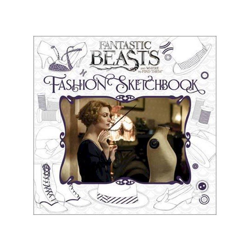 Harry Potter: Fantastic Beasts And Where To Find Them (Hardback) - Fashion Sketchbook - 1163270 , 9781338116816 , 62_4639519 , 376000 , Harry-Potter-Fantastic-Beasts-And-Where-To-Find-Them-Hardback-Fashion-Sketchbook-62_4639519 , tiki.vn , Harry Potter: Fantastic Beasts And Where To Find Them (Hardback) - Fashion Sketchbook