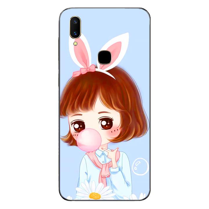Ốp lưng dẻo cho điện thoại Vivo V11i - Baby Girl 03