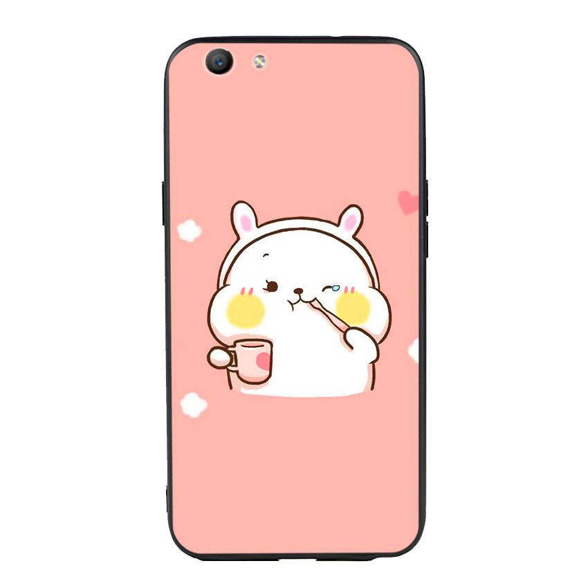 Ốp lưng viền TPU cho điện thoại Oppo F1S - Cute 06
