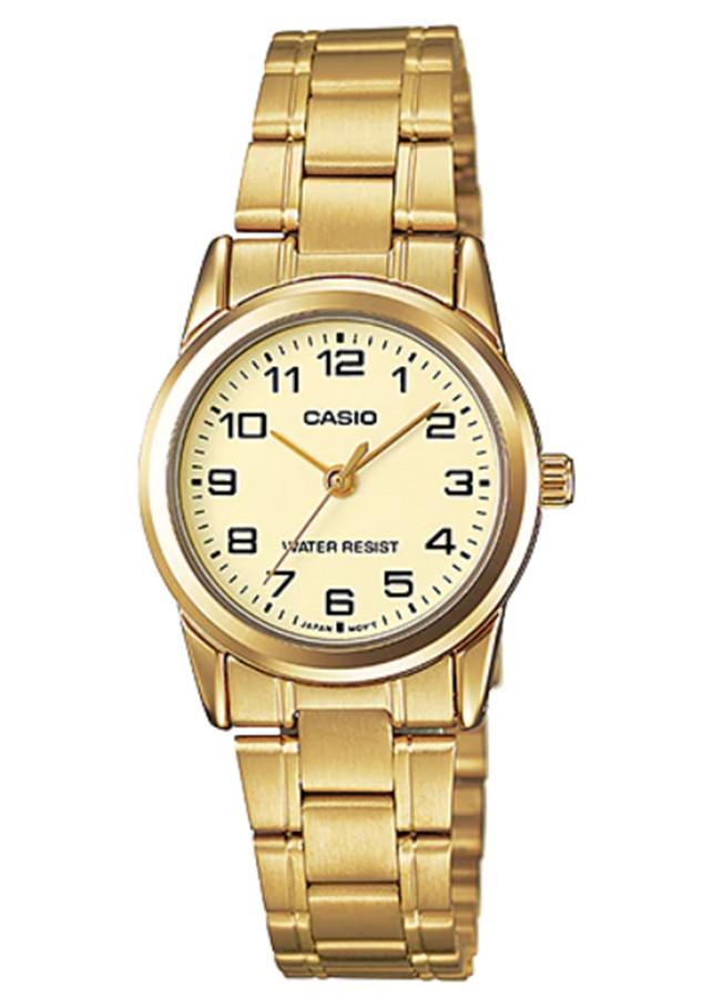 Đồng hồ nữ dây kim loại Casio LTP-V001G-9BUDF