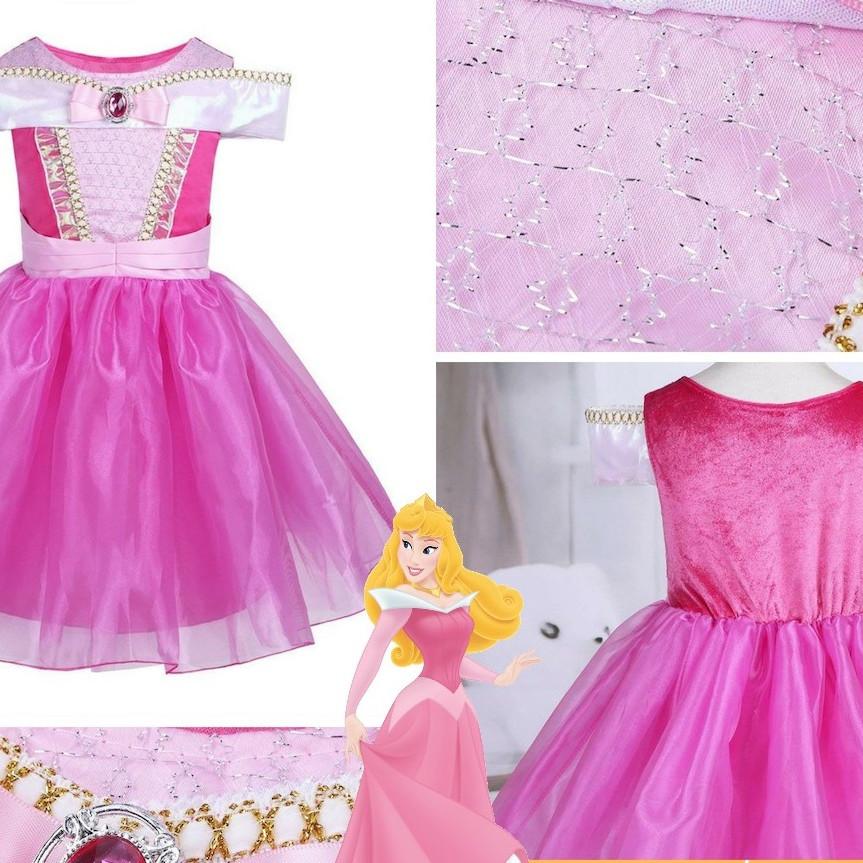 Váy công chúa Aurora Ngắn - Sleeping Beauty - 9889561 , 7956892948643 , 62_19550735 , 369000 , Vay-cong-chua-Aurora-Ngan-Sleeping-Beauty-62_19550735 , tiki.vn , Váy công chúa Aurora Ngắn - Sleeping Beauty