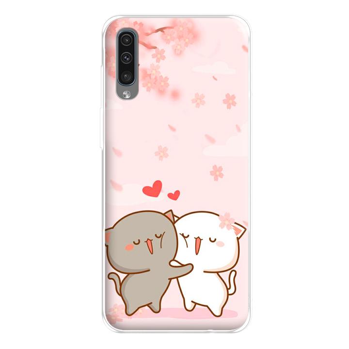 Ốp lưng dẻo cho Samsung Galaxy A50_0509 LOVELY05 - Hàng Chính Hãng