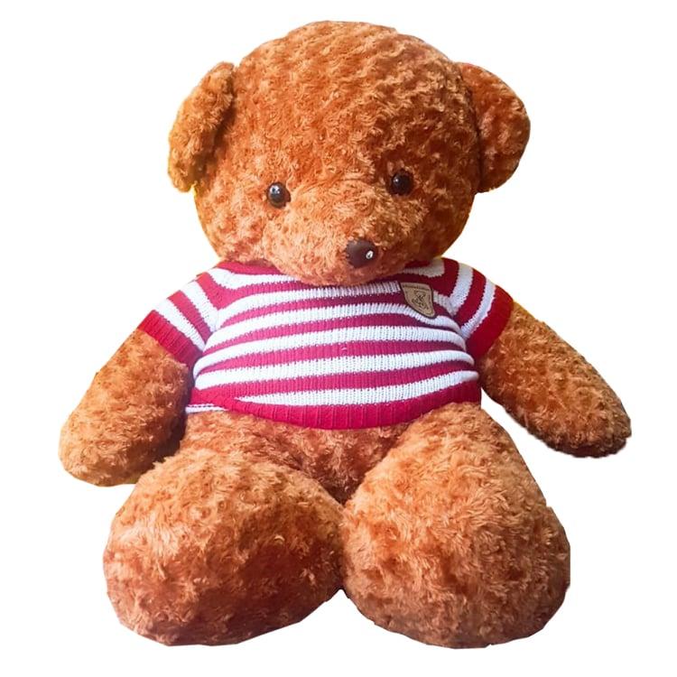 Gấu bông Teddy vàng nâu 1m2 siêu đáng yêu