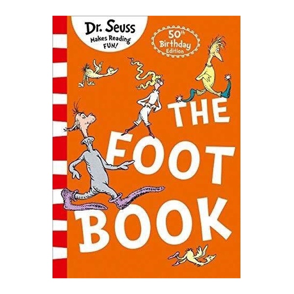 Foot Bk: Dr Seuss Blue Back