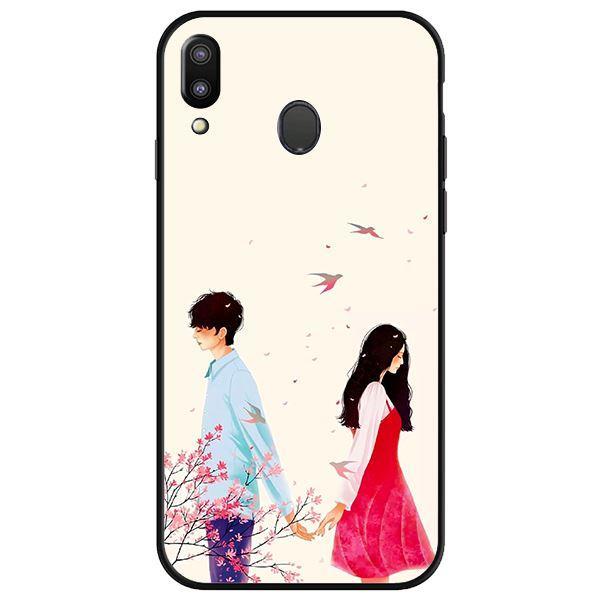 Ốp lưng dành cho điện thoại Samsung Galaxy M20 - Anime Boy Girl