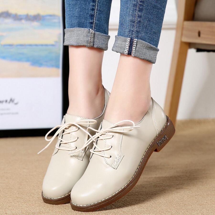 Giày Oxford Nữ Thời Trang Hàn Quốc L
