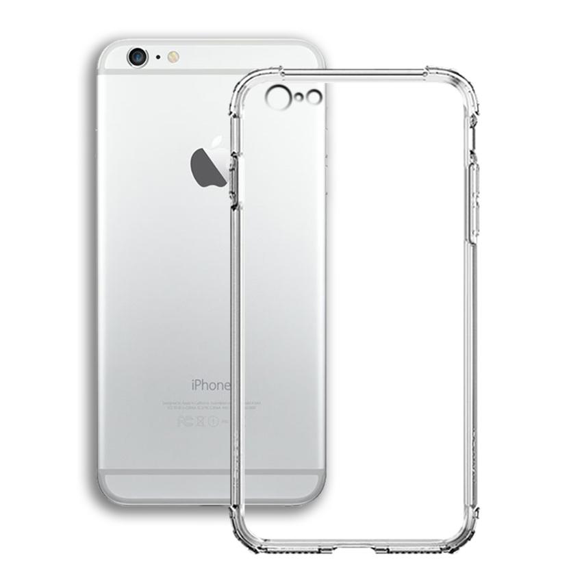 Ốp Lưng Chống Sốc cho điện thoại Apple Iphone 6 Plus / 6S Plus - Dẻo Trong - Hàng Chính Hãng - 9624794 , 2419174477224 , 62_19705192 , 100000 , Op-Lung-Chong-Soc-cho-dien-thoai-Apple-Iphone-6-Plus--6S-Plus-Deo-Trong-Hang-Chinh-Hang-62_19705192 , tiki.vn , Ốp Lưng Chống Sốc cho điện thoại Apple Iphone 6 Plus / 6S Plus - Dẻo Trong - Hàng Chính H