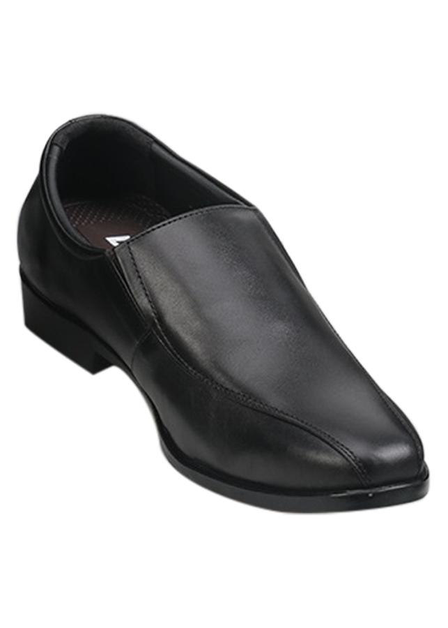 Giày Tây Nam Da Thật VNL VNL1A2TK1TD - Đen