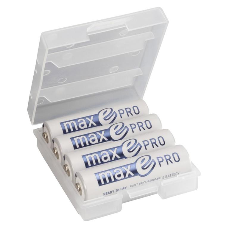 Pin sạc cao cấp ANSMANN MAX E PRO vỉ 4 viên dung lượng 2000mAh