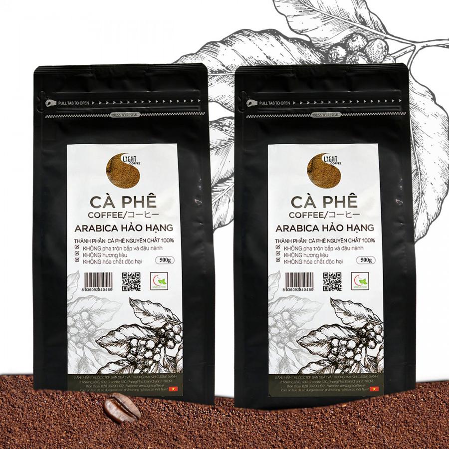 Combo 2 gói Cà phê bột nguyên chất 100% Arabica Hảo Hạng - Light coffee - gói 500g - 1254021 , 9658528225514 , 62_7001869 , 733000 , Combo-2-goi-Ca-phe-bot-nguyen-chat-100Phan-Tram-Arabica-Hao-Hang-Light-coffee-goi-500g-62_7001869 , tiki.vn , Combo 2 gói Cà phê bột nguyên chất 100% Arabica Hảo Hạng - Light coffee - gói 500g
