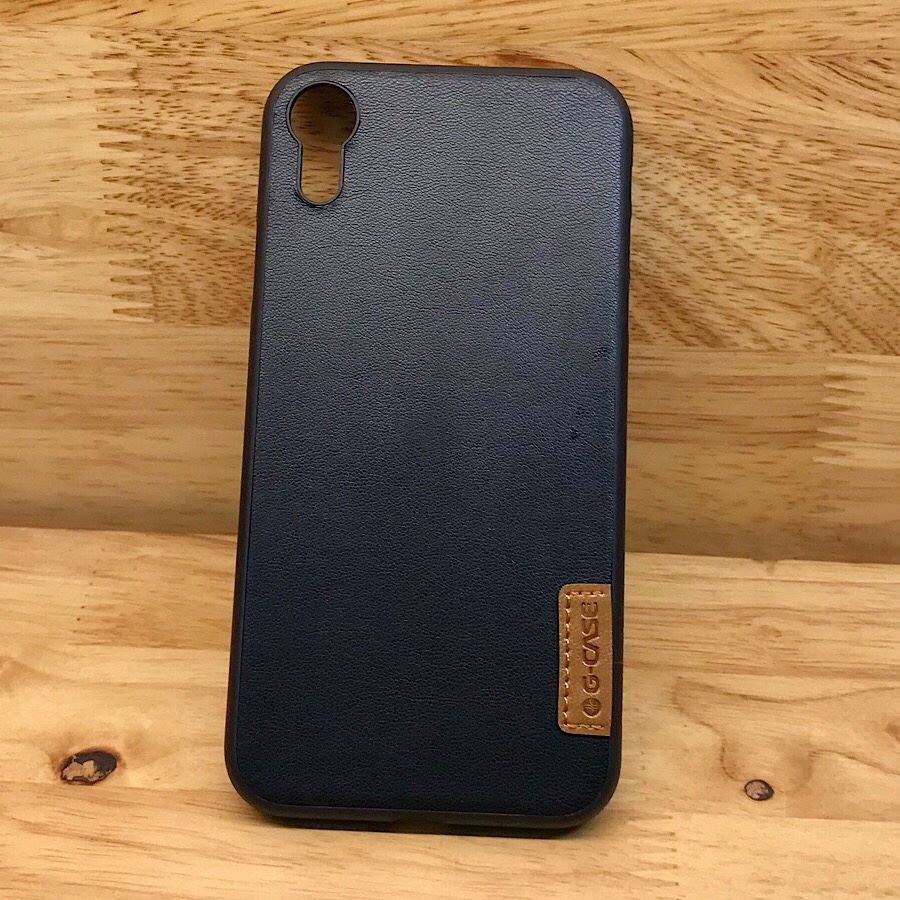 Ốp lưng iPhone XR hiệu G-Case Dark Skin mỏng 1mm