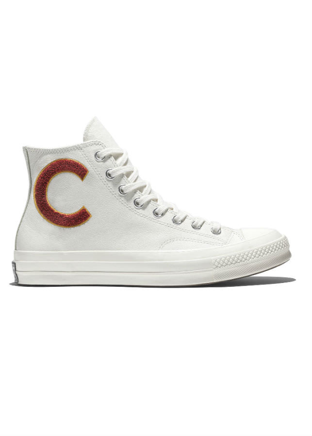 Giày Sneaker Unisex Converse Chuck Taylor All Star 1970s Wordmark Wool Leather - White