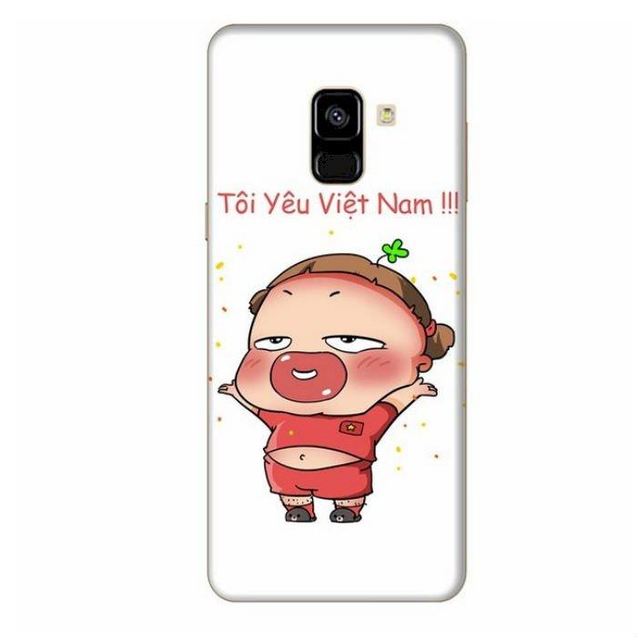 Ốp Lưng Dành Cho Samsung Galaxy A8 2018 Quynh Aka 1