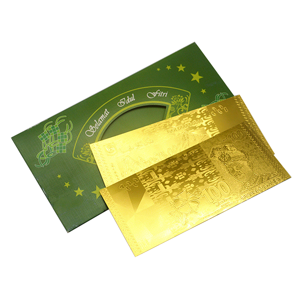 Malaysian Ringgit Banknote 24k Gold Foil Paper Commemorative Banknotes Collection MYR 100 - 16650481 , 5763369832624 , 62_27570462 , 79000 , Malaysian-Ringgit-Banknote-24k-Gold-Foil-Paper-Commemorative-Banknotes-Collection-MYR-100-62_27570462 , tiki.vn , Malaysian Ringgit Banknote 24k Gold Foil Paper Commemorative Banknotes Collection MYR 1