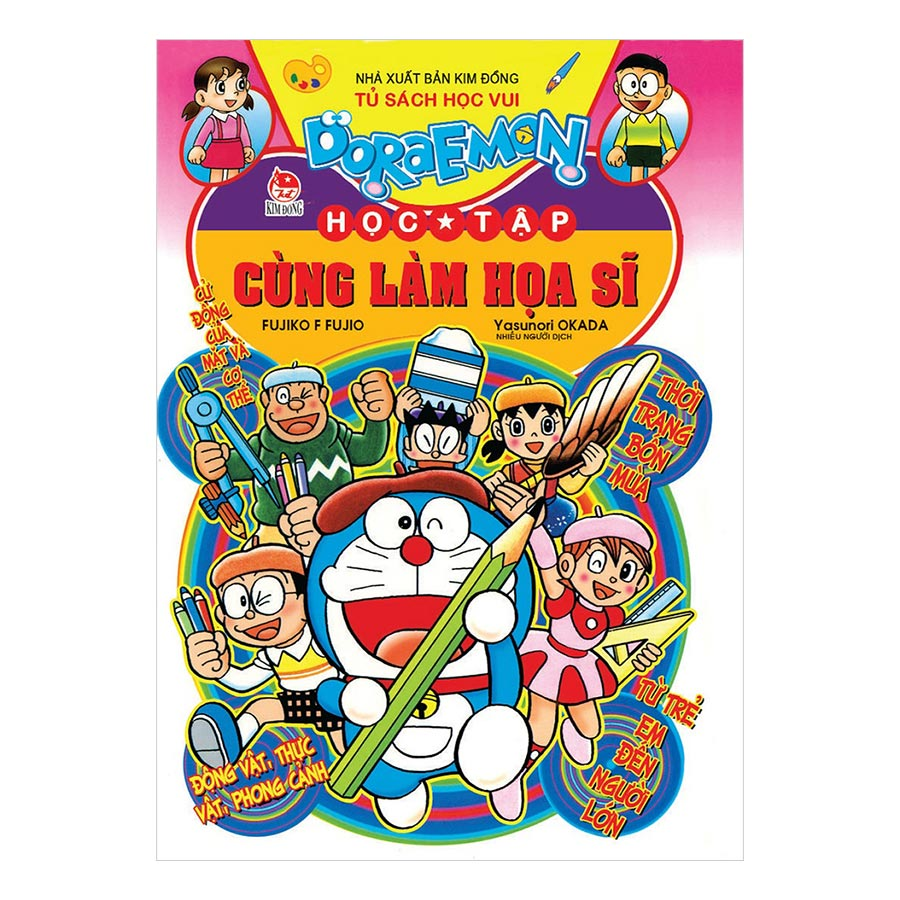 Doraemon Học Tập: Cùng Làm Họa Sĩ (Tái Bản 2019) - 1680538 , 6379104596110 , 62_11713401 , 30000 , Doraemon-Hoc-Tap-Cung-Lam-Hoa-Si-Tai-Ban-2019-62_11713401 , tiki.vn , Doraemon Học Tập: Cùng Làm Họa Sĩ (Tái Bản 2019)