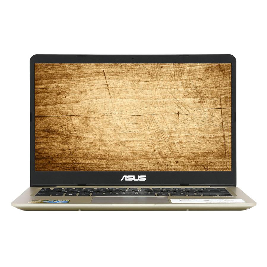 """Laptop Asus Vivobook A411UA-BV834T Core i3-7020U/ Win10 (14"""" HD) - Hàng Chính Hãng"""