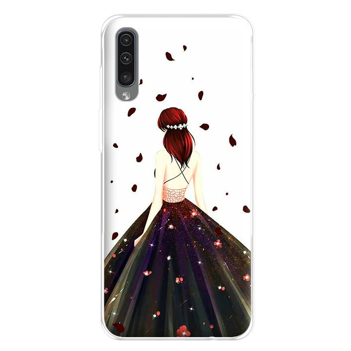 Ốp lưng dẻo cho điện thoại Samsung Galaxy A50 - 224 0106 GIRL03